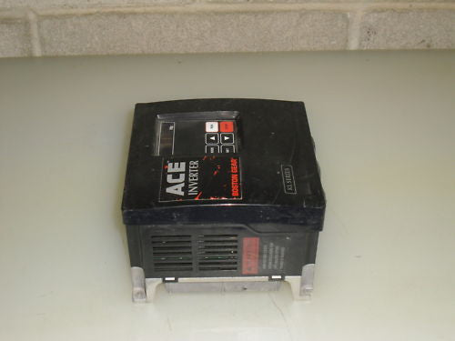 BOSTON GEAR ACE INVERTER ACE-KL-230V-3P-1HP *USED*