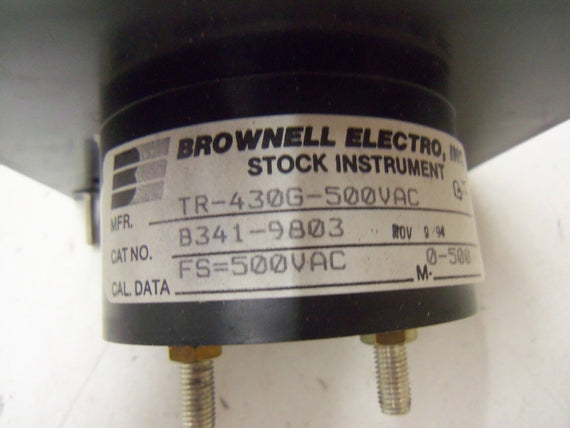 BROWNELL ELECTRO, INC. B341-9803 *NEW IN BOX*
