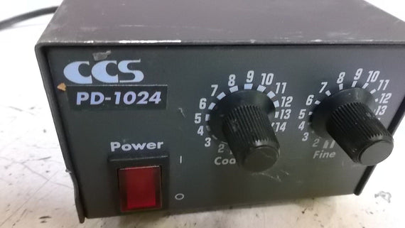 CCS PD-1024 POWER SUPPLY *USED*