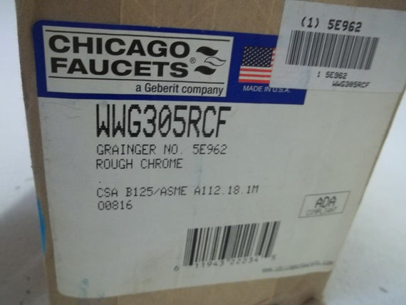 CHICAGO WWG305RCF FAUCET CHROME PLATE *NEW IN BOX*