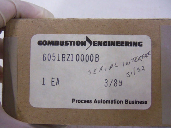 COMBUSTION ENGINEERING SERIAL INTERFACE 6051BZ10000B *NEW IN BOX*