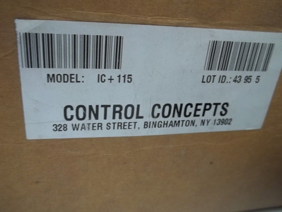 CONTROL CONCEPTS ISLATROL IC+115 ACTIVE TRACKING FILTER *NEW IN BOX*