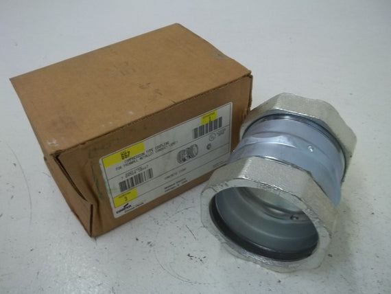 "COOPER 667 3"" COUPLING *NEW IN BOX*"