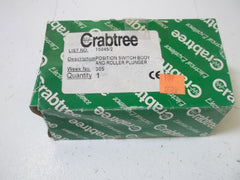 CRABTREE AC-15 SWITCH BODY AND ROLLER PLUNGER *USED*