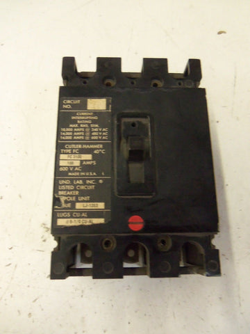 CUTLER HAMMER  CIRCUIT BREAKER FC3100 *USED*