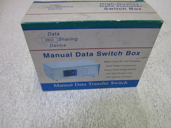 DATA SHARING DEVICE DW-HD15AB MANUAL DATA SWITCH BOX *NEW IN BOX*