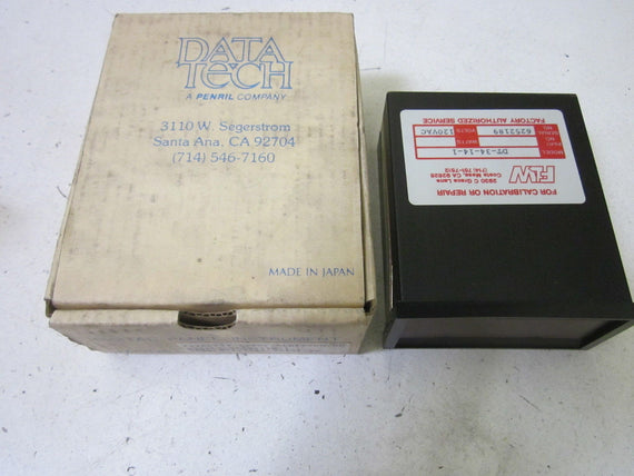 DATA TECH DT-34-14-1 *NEW IN BOX*