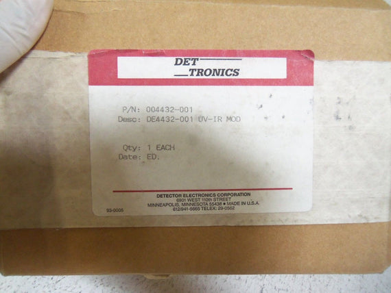 DET-TRONICS 004432-001  CIRCUIT BOARD *NEW IN BOX*