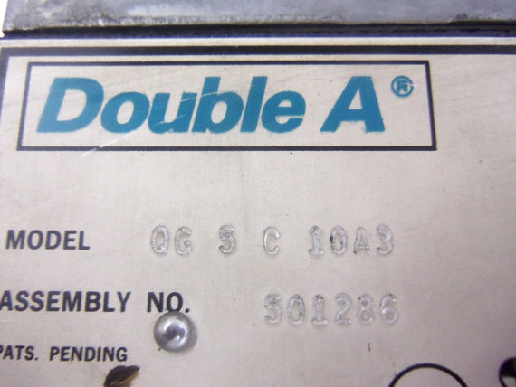 DOUBLE A QG 5 C 10A3 *USED*