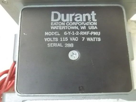 DURANT 6-Y-1-2-RMF-PMU COUNTER (AS IS) *USED*