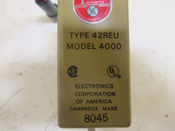 ELECTRONICS CORPORATION 42REU *USED*