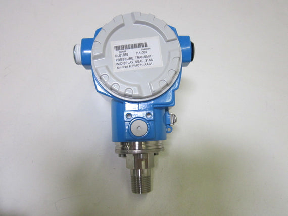 ENDRESS+HAUSER CERABAR S PMC71-AAC1S6RDAAA PRESSURE TRANSMITTER *NEW NO BOX*