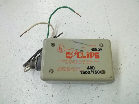 EZCLIPS PTS-480-3Y TRANSIENT VOLTAGE SURGE SUPPRESSOR *USED*