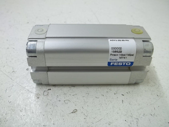 FESTO ADVU-25-50-PA PNEUMATIC CYLINDER *NEW NO BOX*