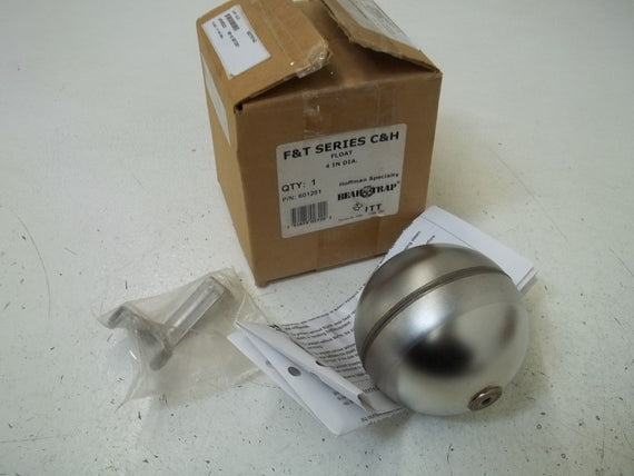 F & T SERIES C & H 601261 FLOAT 4IN DIAMETER *NEW IN BOX*