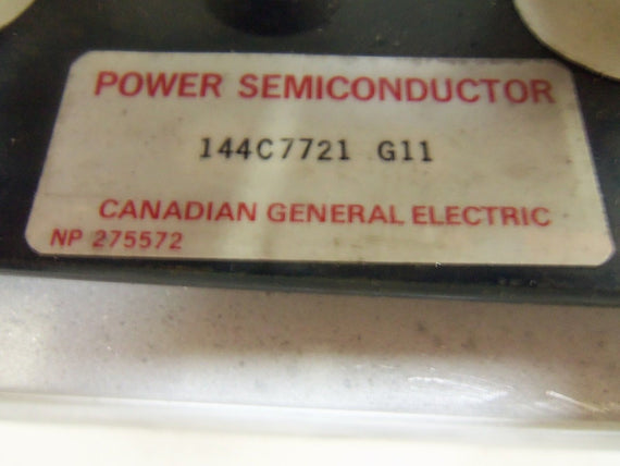 GENERAL ELECTRIC 144C7721 G11 POWER SEMICONDUCTOR *USED*