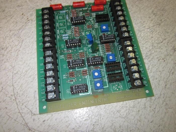 GLOUCESLER ENGINEERING D40074041 REV. C MULTI-PURPOSE BOARD *USED*