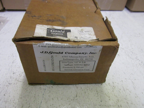 "GOULD 1/2"" K-3-B *NEW IN BOX*"