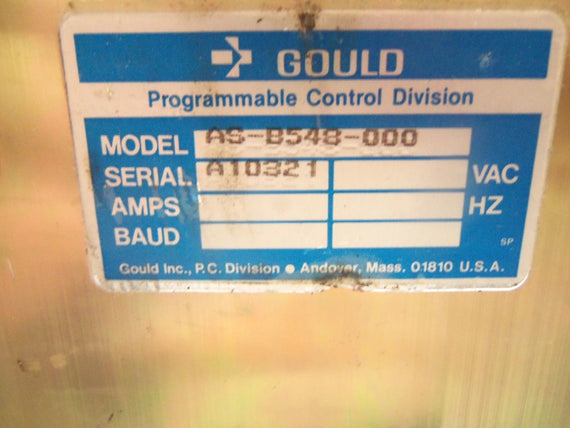 GOULD AS-B548-000 HOUSING *USED*