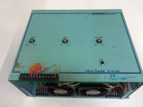 HALMAR ROBICON 3P-48225-OC/RR-D-TC POWER SUPPLY 480V *USED*