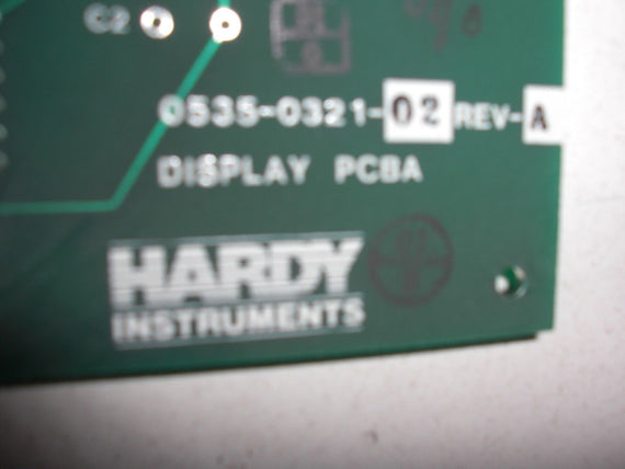 HARDY INSTRUMENTS 0535-0321-02 *USED*