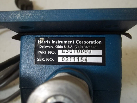 HARRIS INSTRUMENT CORPORATION E3010003 *USED*