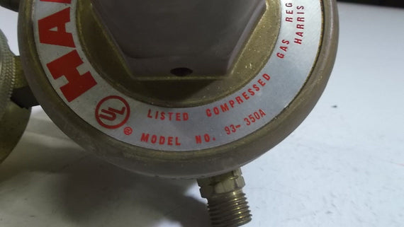 HARRIS PRESSURE REGULATOR 93-350A *USED*