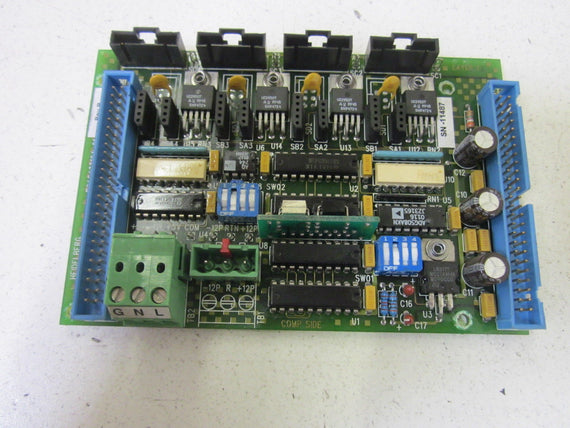HEIDELBERG PCA432104-01 PC BOARD FOR 4 CHAIN DRIVE *USED*