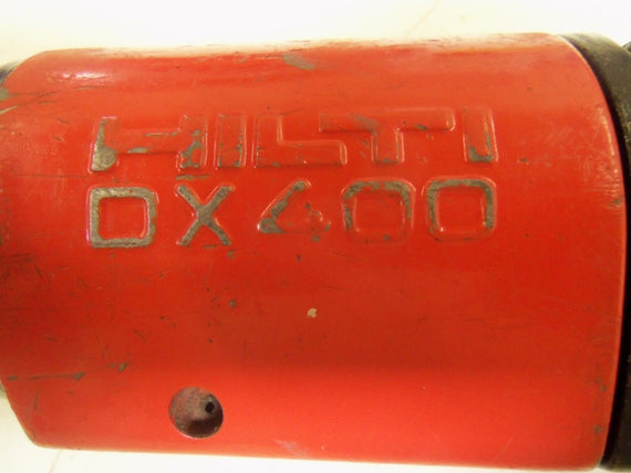 HILTI DX400 POWDER ACTUATED NAIL GUN * USED *