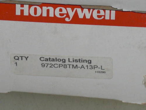 HONEYWELL  972CP8TM-A13P-L  *NEW IN BOX*