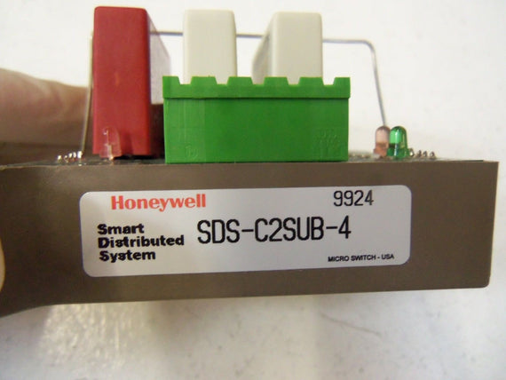 HONEYWELL CONNECTOR I/O QUAD SDS-C2SUB-4  *USED *