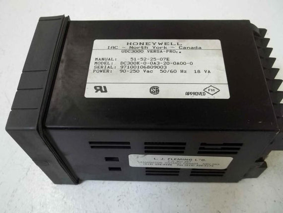 HONEYWELL DC300K-0-0A3-20-0A00-0 *USED*