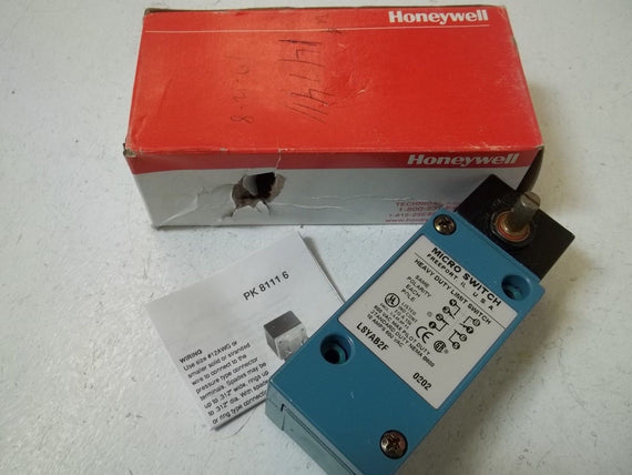 HONEYWELL LSYAB2F HEAVY DUTY LIMIT SWITCH *NEW IN BOX*