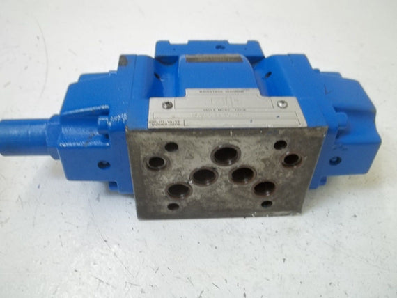 HSD CORPORATION DG3S52A10SW2 DIRECTIONAL CONTROL VALVE *USED*