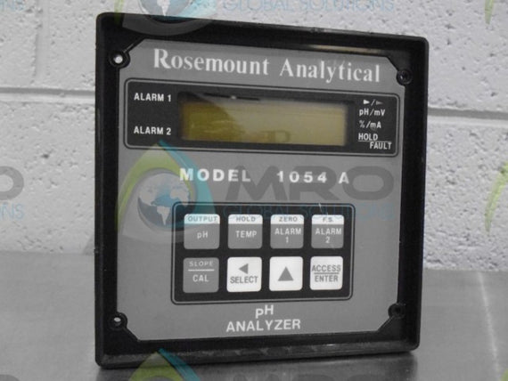 AS IS ROSEMOUNT 1054A ANALYZEER * NEW NO BOX *