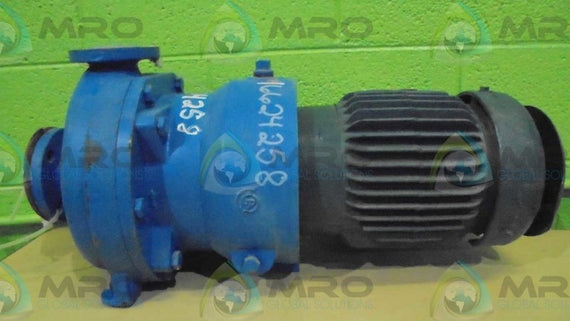 BALDOR / GOULDS PUMPS VECP3587T w/A763F681-2 * USED *