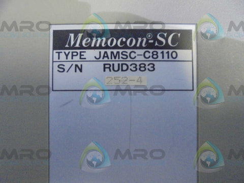 YASKAWA  JAMSC-C8110  MEMOCON POWER SUPLY * USED *