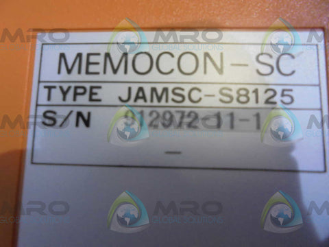 YASKAWA  JAMSC-S8125  MEMOCON POWER SUPLY * USED *