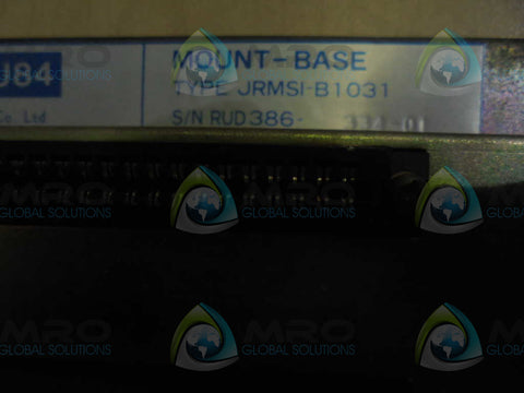 YASKAWA  JRMSI-B1031  MOUNT BASE * USED *