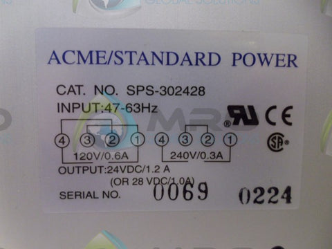ACME 00690224 POWER SUPPLY *NEW NO BOX*