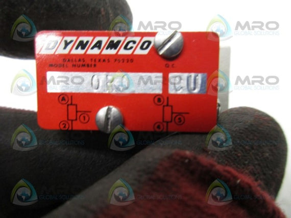 DYNAMCO 0R0 PNEUMATIC VALVE * NEW NO BOX *