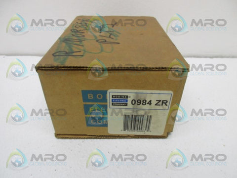 BODINE 0984ZR TERMINAL BOX * NEW IN BOX *