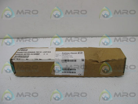 ENDRESS HAUSER PMC131-A12F1D10 PRESSURE TRANSDUCER * NEW IN BOX *