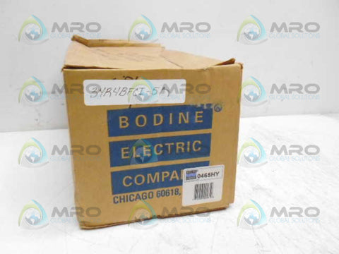 BODINE 0465HY 34R4BFCI-5R 1/15HP RATIO 10:1 * NEW IN BOX *