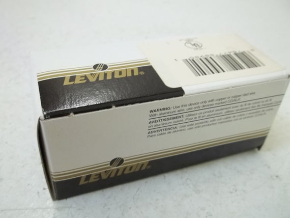 LEVITON 23031 CONNECTOR *NEW IN BOX*