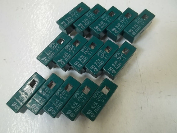 LOT OF 15 DATIO GP32 FUSE *USED*