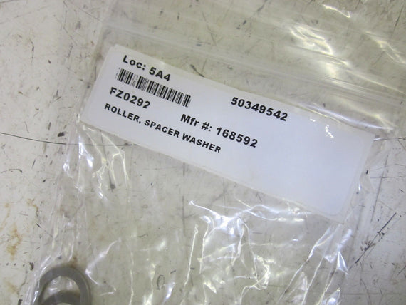 LOT OF 18 168592 ROLLER SPACE WASHERS *NEW IN A BAG*