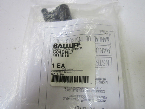 LOT OF 2 BALLUFF C04BNL7  *NEW IN A FACTORY BAG*