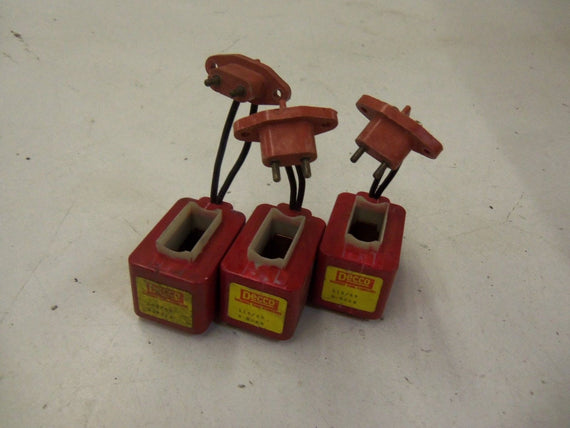 LOT OF 3 DECCO 9-802M COIL *USED*