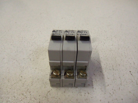 LOT OF 3 STOTZ-KONTAKT CIRCUIT BREAKER  S181-K4A *USED*